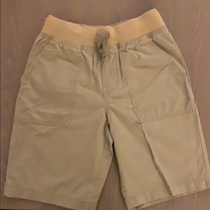 Boy's khaki shorts